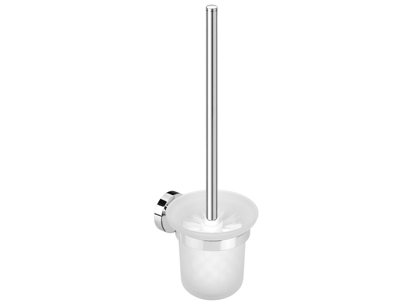 Wall toilet brush holder
