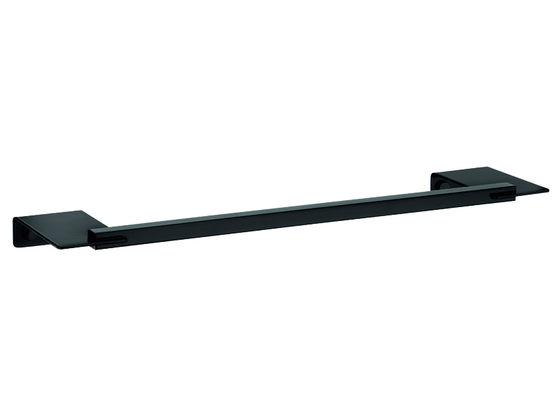 black Small Towel Rail