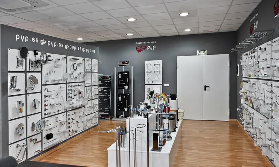 Accesorios de ba o y complementos accessoires de salle de for Bathroom accessories showroom